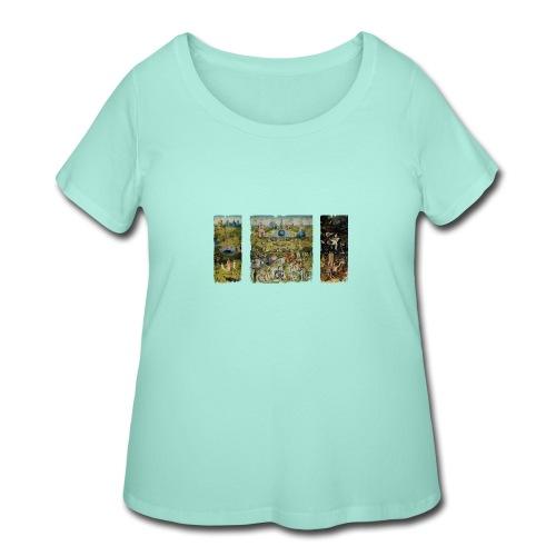 Garden Of Earthly Delights - Women's Curvy T-Shirt