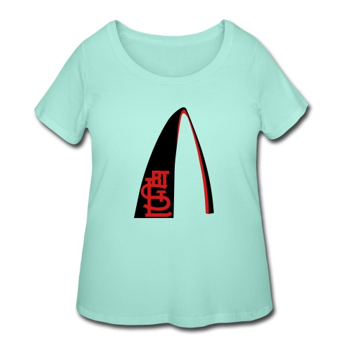 RTSTL_t-shirt (1) - Women's Curvy T-Shirt
