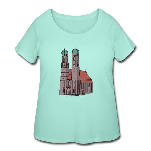 Munich Frauenkirche - Women's Curvy T-Shirt