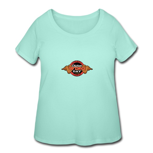 Chicken Wing Day - Women's Curvy T-Shirt