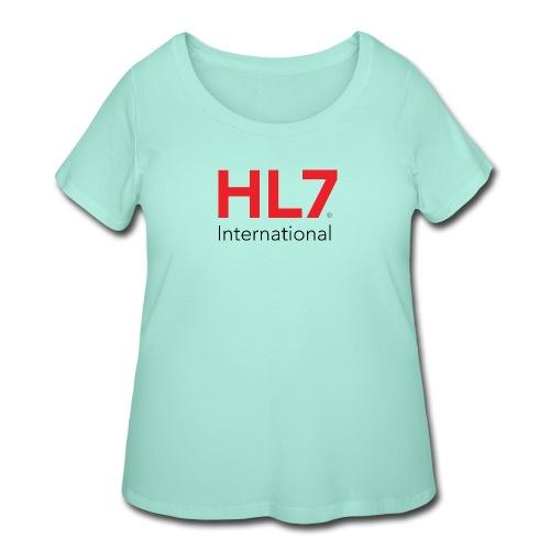 HL7 International - Women's Curvy T-Shirt