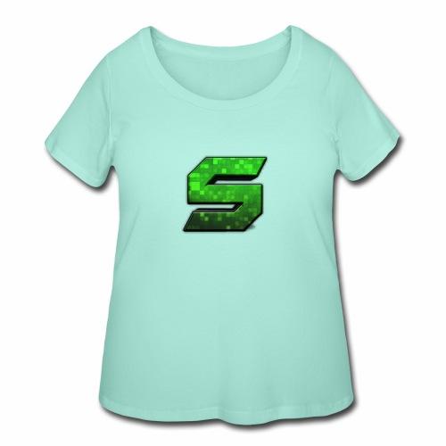seans logo - Women's Curvy T-Shirt
