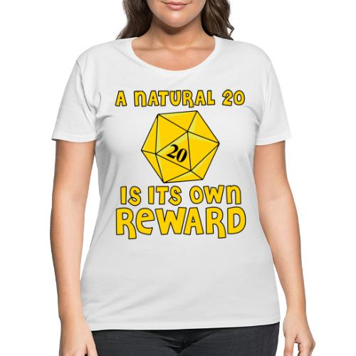 Natural Twenty - Women's Curvy T-Shirt