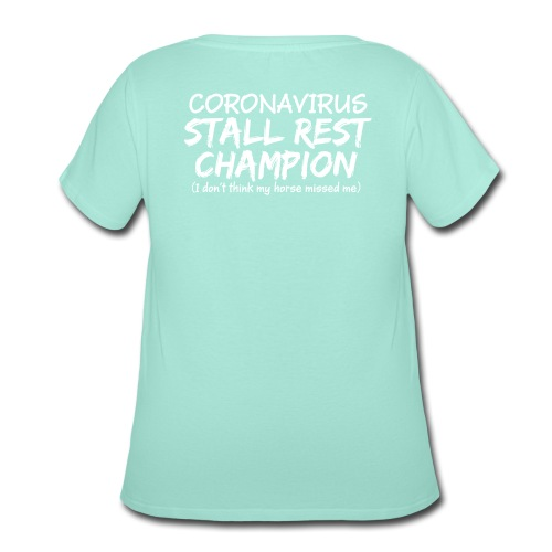 Stall Rest Champion - Women's Curvy T-Shirt