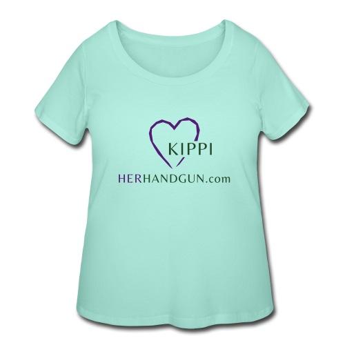 HerHandgun Logo for Kippi ONLY! - Women's Curvy T-Shirt