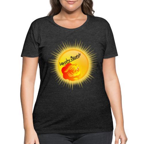 LoyaltyBoardsNewLogo 10000 - Women's Curvy T-Shirt