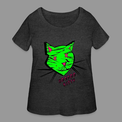 Voodoo Kitty - Women's Curvy T-Shirt