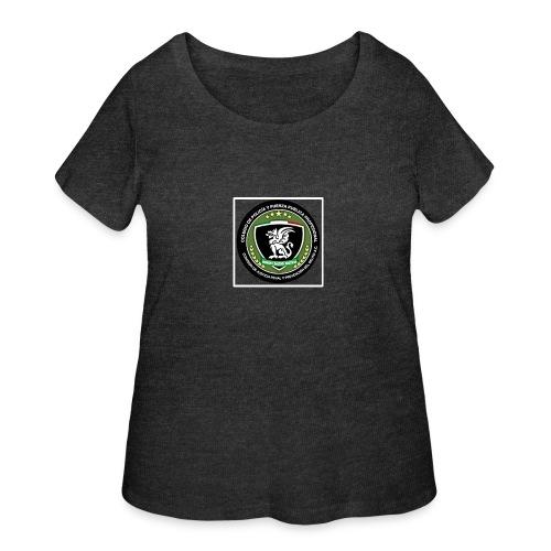 Its for a fundraiser - Women's Curvy T-Shirt