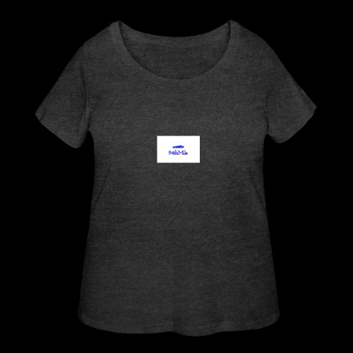 Blue 94th mile - Women's Curvy T-Shirt