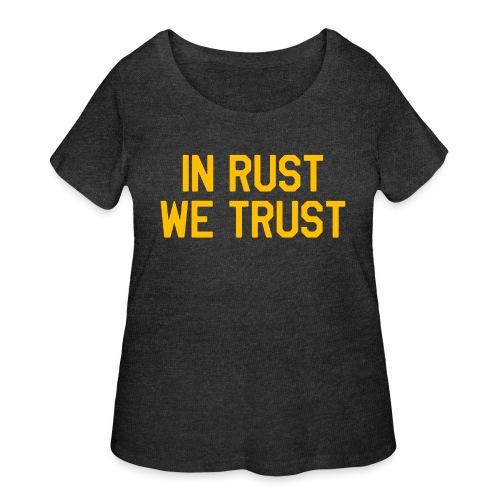In Rust We Trust II - Women's Curvy T-Shirt