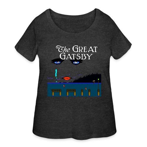 Great Gatsby Game Tri-blend Vintage Tee - Women's Curvy T-Shirt