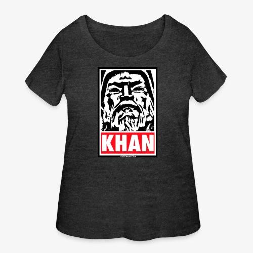 Obedient Khan - Women's Curvy T-Shirt
