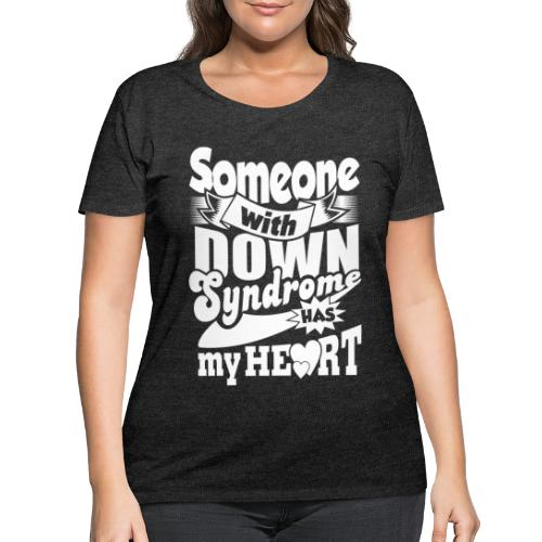 Has my Heart - Women's Curvy T-Shirt