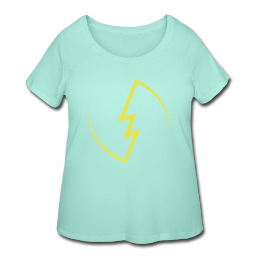 Electric Spark - Women's Curvy T-Shirt