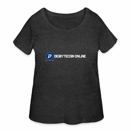 Digibyte online light - Women's Curvy T-Shirt