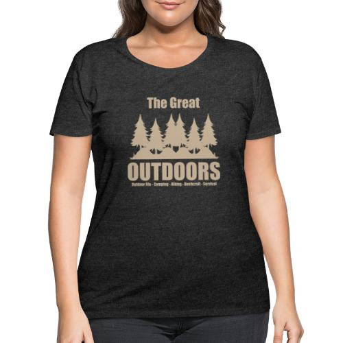 The great outdoors - Clothes for outdoor life - Women's Curvy T-Shirt