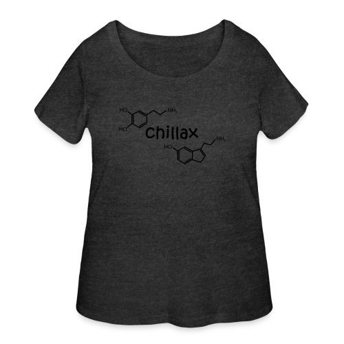 Chillax - Women's Curvy T-Shirt