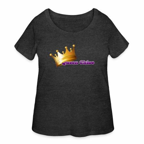 Queen Chloe - Women's Curvy T-Shirt