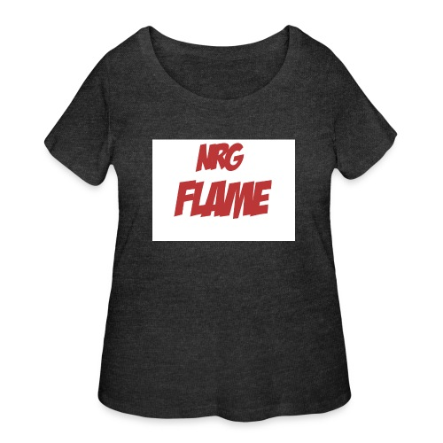 Flame For KIds - Women's Curvy T-Shirt