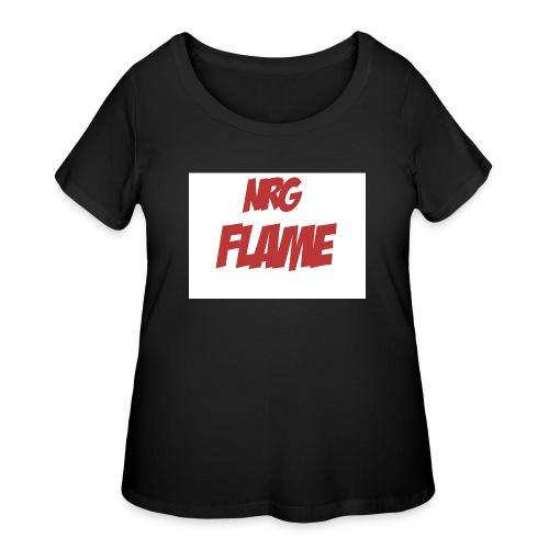 FLAME - Women's Curvy T-Shirt