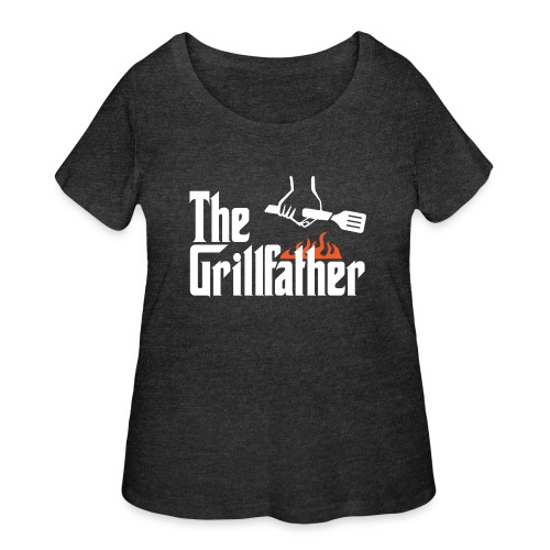 The Grillfather - Women's Curvy T-Shirt