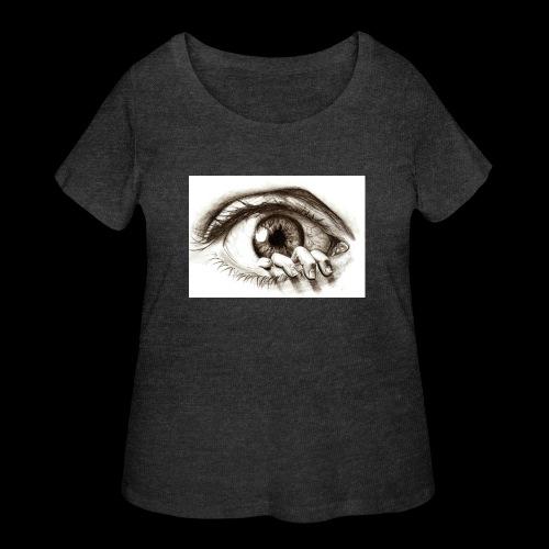 eye breaker - Women's Curvy T-Shirt