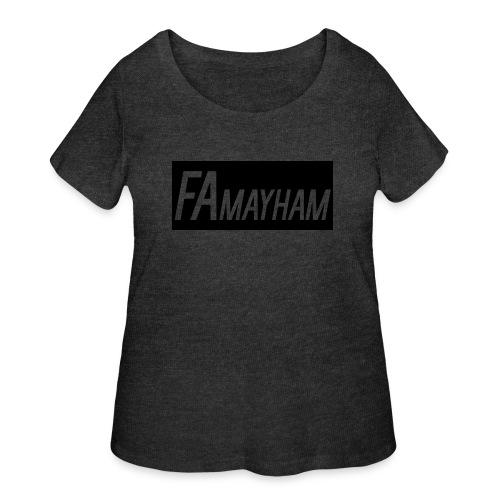FAmayham - Women's Curvy T-Shirt