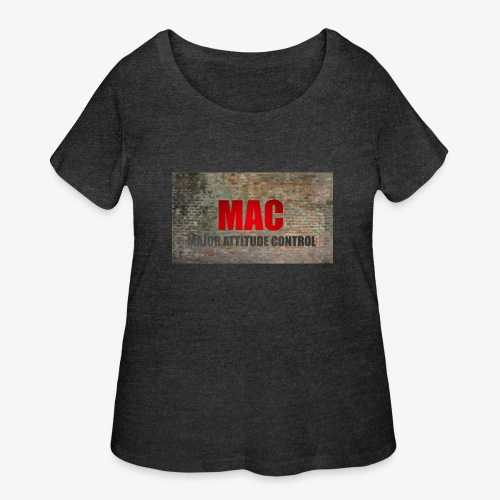 MAC LOGO - Women's Curvy T-Shirt