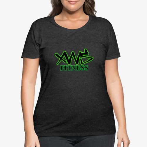 XWS Fitness - Women's Curvy T-Shirt