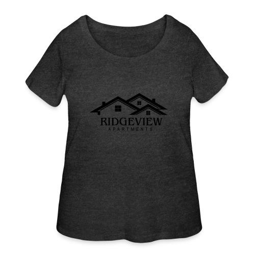 Ridgeview Apartments - Women's Curvy T-Shirt
