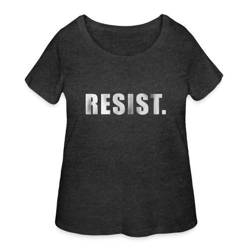 RESIST. - Women's Curvy T-Shirt