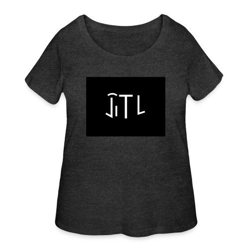 7B6C1682 920E 4390 95DE DC75A871A4E5 - Women's Curvy T-Shirt