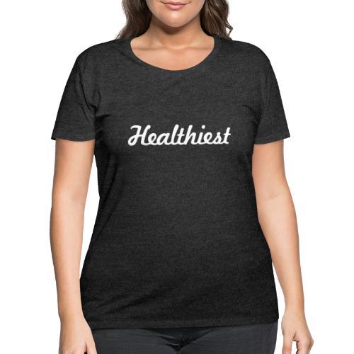 Sick Healthiest Sticker! - Women's Curvy T-Shirt