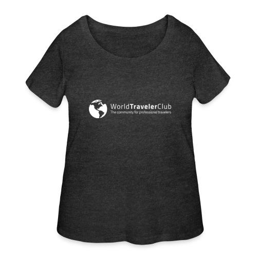 wtc logo - Women's Curvy T-Shirt