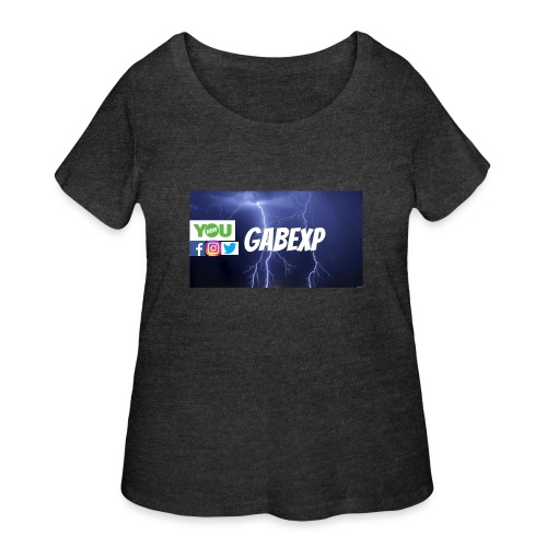 gabexp 1 - Women's Curvy T-Shirt