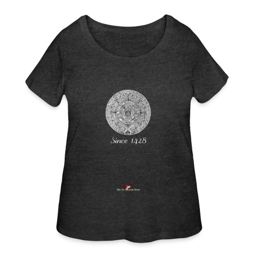 Since 1428 Aztec Design! - Women's Curvy T-Shirt