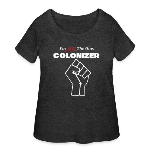 colonizer - Women's Curvy T-Shirt