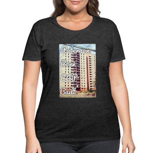 Paterson Born CCP Built - Women's Curvy T-Shirt