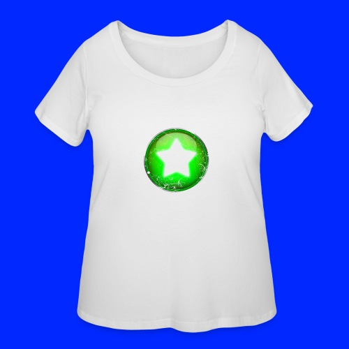 Vintage Power-Up Tee - Women's Curvy T-Shirt