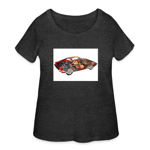 FullSizeRender mondial - Women's Curvy T-Shirt