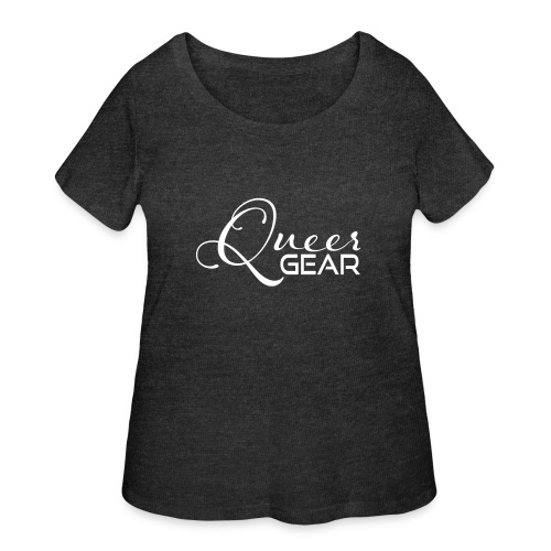 Queer Gear T-Shirt 03 - Women's Curvy T-Shirt