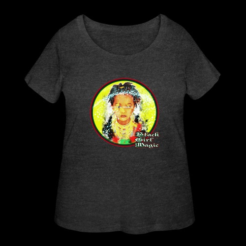 Black Girl Magic - Women's Curvy T-Shirt
