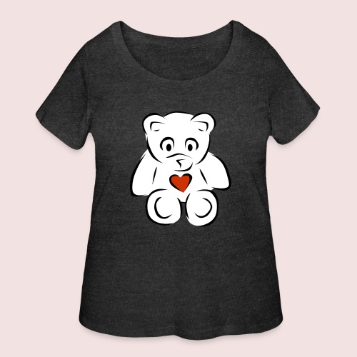 Sweethear - Women's Curvy T-Shirt