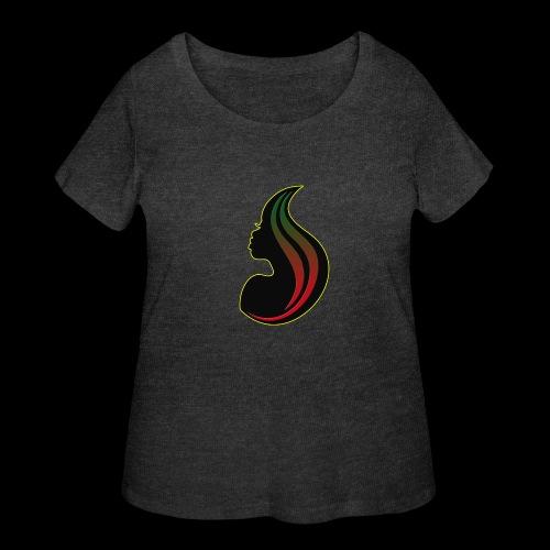 RBGgirl - Women's Curvy T-Shirt
