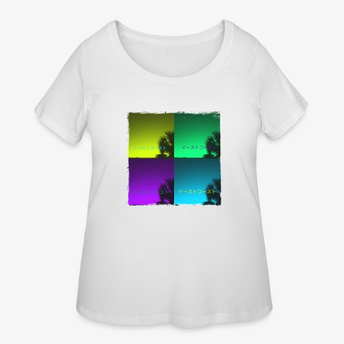 EastCoastAesthetic - Women's Curvy T-Shirt