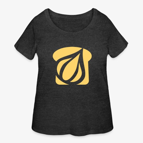 Garlic Toast - Women's Curvy T-Shirt