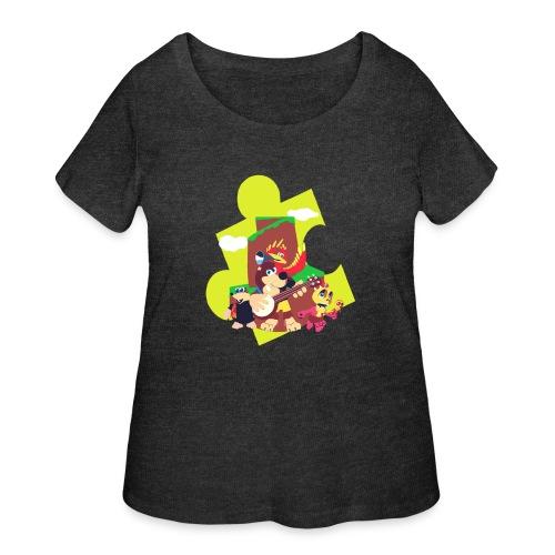 banjo - Women's Curvy T-Shirt