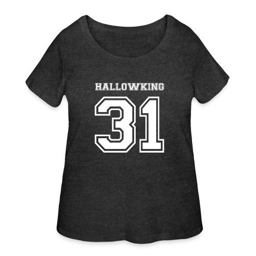 Halloween Hallowking - Women's Curvy T-Shirt
