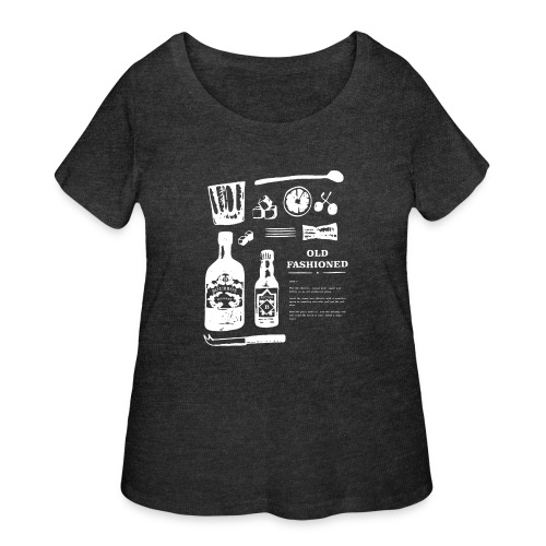 Old Fashioned - Women's Curvy T-Shirt