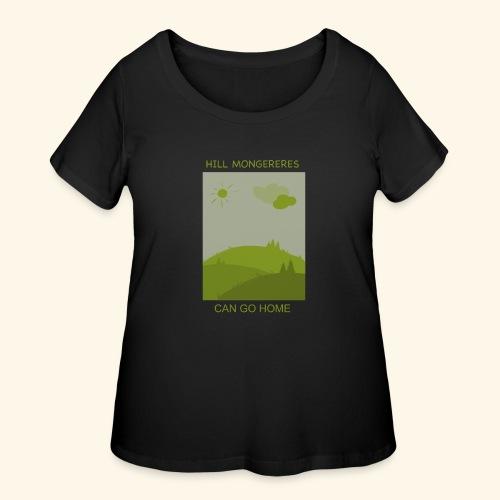 Hill mongereres - Women's Curvy T-Shirt